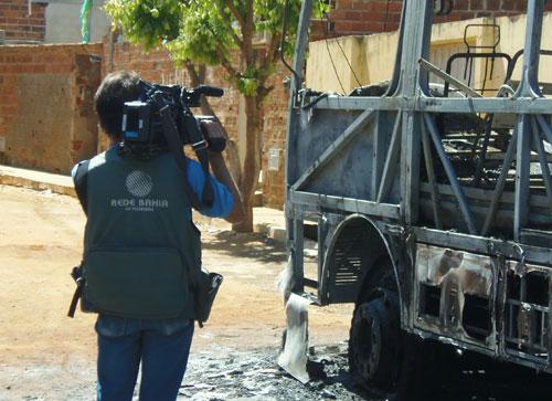 Após repercussão da ação da polícia TV Sudoeste grava matéria na cidade