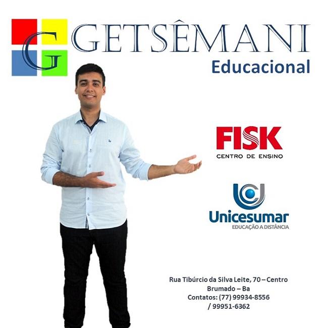 A Getsêmani Educacional oferece a você o melhor em educação em Brumado