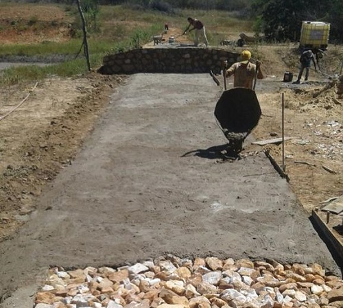 Segunda etapa de construção de sangradoros se inicia em Malhada de Pedras