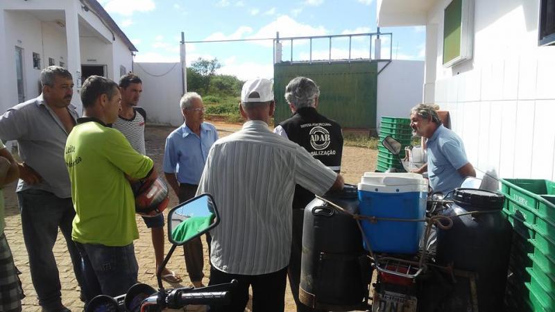 Agentes da ADAB encontram irregularidades em laticínio de Brumado