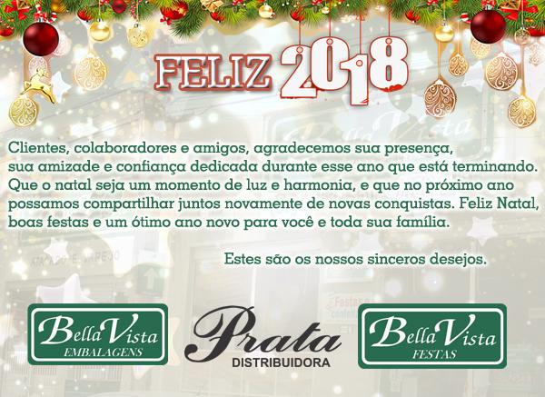 Fim de Ano: Mensagem do Grupo Bella Vista