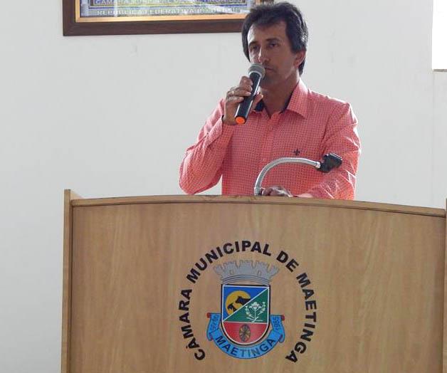 Maetinga: vereador cobra do prefeito valorização dos professores recuperação das estradas vicinais