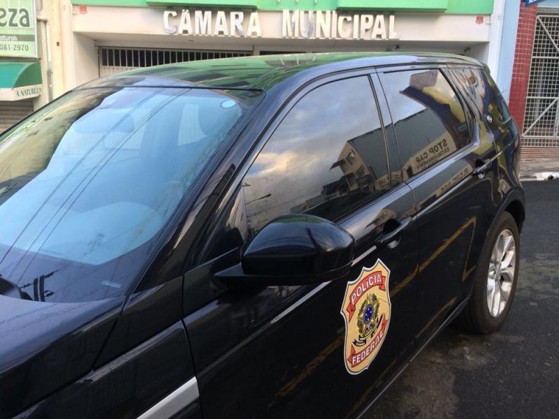 Vitória da Conquista: Vereador é alvo de operação contra crime eleitoral desencadeada pela PF