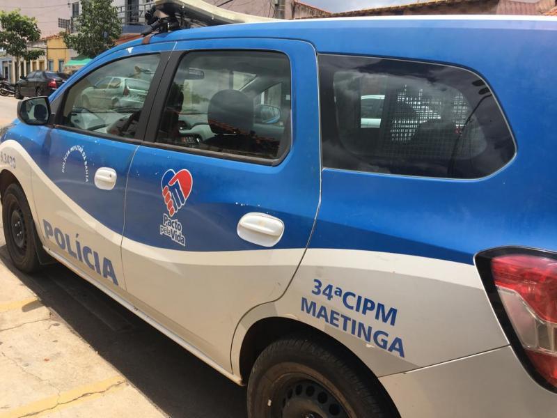 Homem é preso por ameaça e danos ao patrimônio em Maetinga