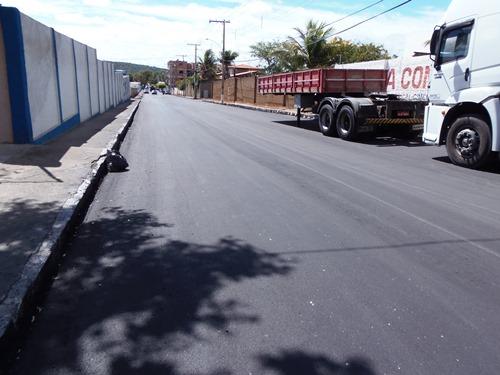 Rua Rio de Contas: Recuperação asfáltica chega ao final