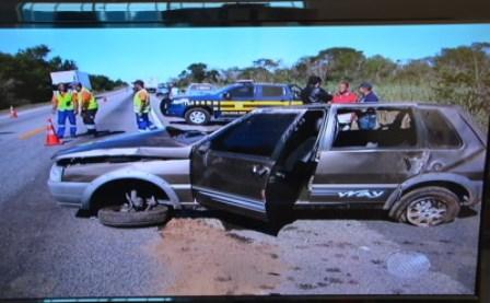 Cândido Sales: Aposentado morre após colisão na BR-116