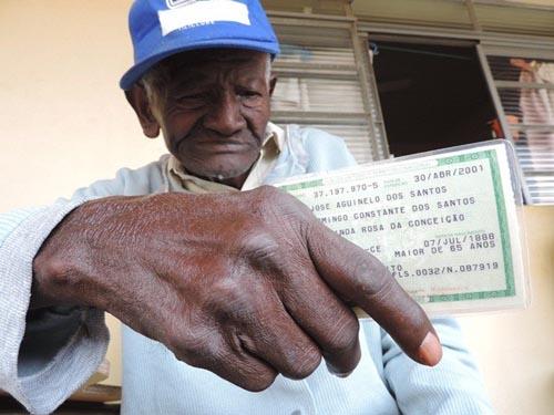 Nascido em quilombo, homem de 126 anos pode ser o mais velho do mundo
