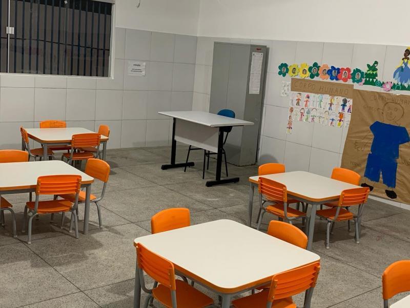 Brumado: Foi inaugurada a Creche Cristiane Caíres Souza no Povoado de Lagoa Funda