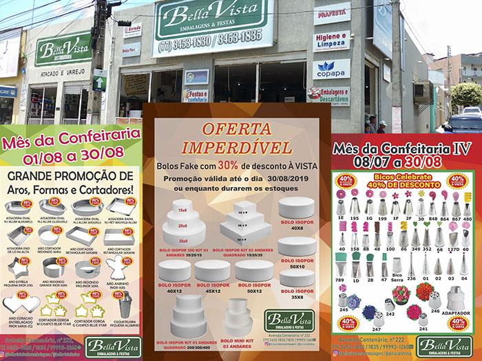 Aproveite as promoções imperdíveis do mês da confeitaria na Bella Vista; venda no atacado e varejo