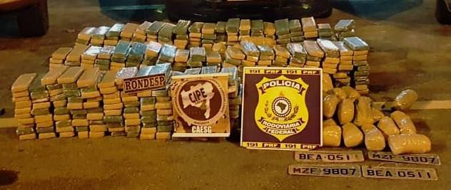 Grande quantidade de droga é apreendida pela polícia em Vitória da Conquista