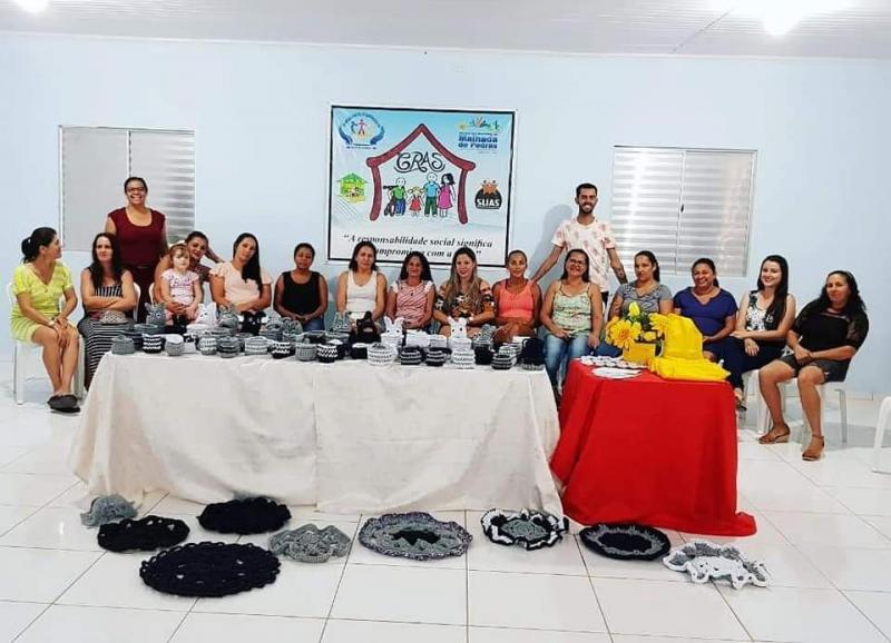 Mulheres são beneficiadas com Oficina de Fios de Malha em Malhada dePedras