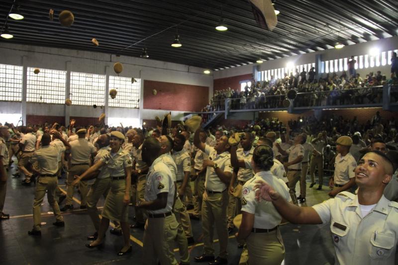 Bahia ganha 494 novos soldados para a Polícia Militar