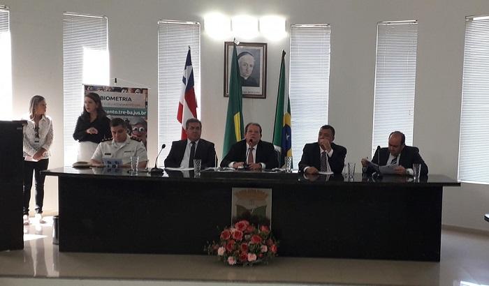 Justiça Eleitoral deve chegar mais próximo do eleitor, afirma presidente do TRE-BA