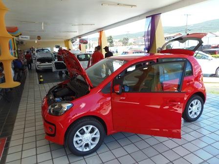 Concessionária Brumauto faz mega feirão no lançamento do carro Up!