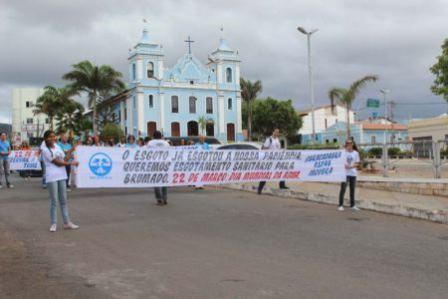 Ativistas se preparam para o Dia da Água em Brumado: O Rio das Contas é de todos nós