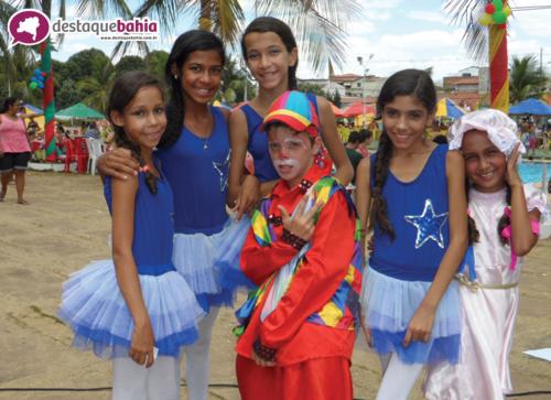O Clube Social proporcionou um dia especial para a criançada