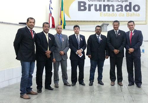 Legislativo brumadense adere a Campanha Outubro Rosa