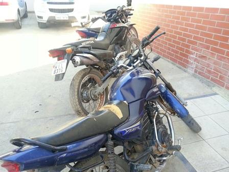 Após investigação Polícia recupera materiais roubados da Fiol e motocicletas com chassi pinados