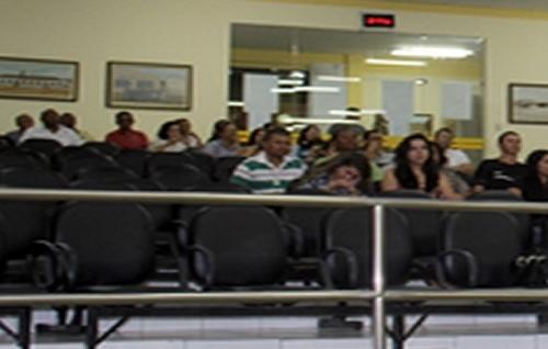 Audiência Pública sobre Dengue população não compareceu