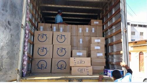 Sefaz apreende carga de 25 mil maços de cigarros contrabandeados em Vitória da Conquista