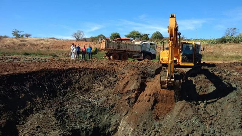 Importantes melhorias são realizadas na comunidade de Sanguessuga, em Guajeru