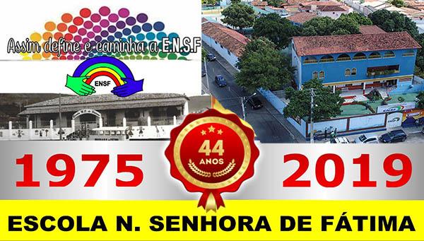 A Ensf comemora seus 44 anos; confira a programação de aniversário