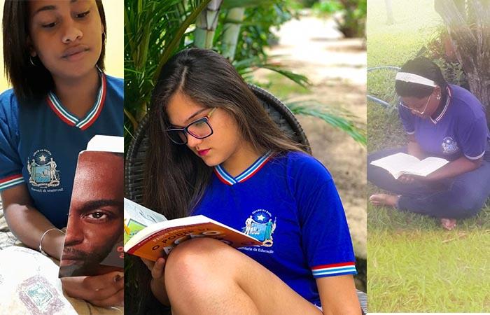 Chapada: Estudantes de Rio de Contas estimulam o hábito da leitura através de aplicativo de videoconferência on-line