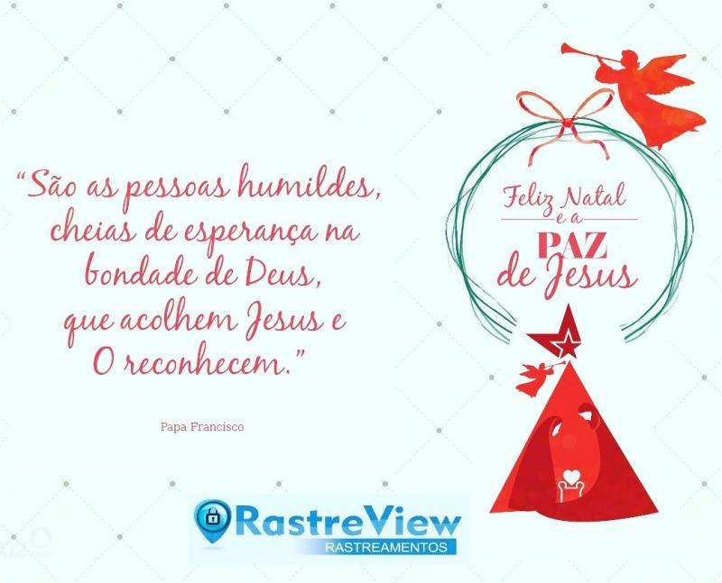 A Rastre View deseja a todos um Feliz Natal