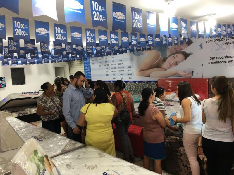 Loja Sonhos Colchões chega em Tanhaçu; sucesso de vendas na inauguração