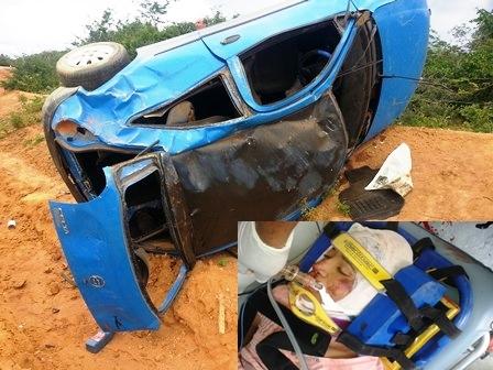 Acidente em estrada vicinal resulta na morte de jovem de 18 anos