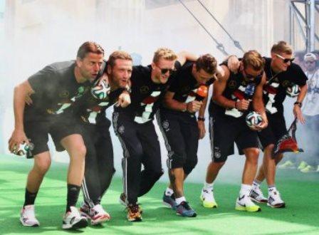 Jogadores da Alemanha são acusados de racismo após provocação a argentinos
