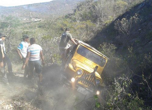 O Cube do Jeep de Brumado, Vitória da Conquista e Riacho de Santana realizaram uma das Trilhas mais dificeis do ano em Licinio de Almeida