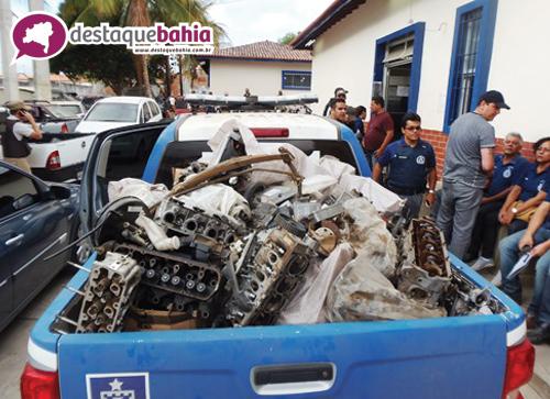 Policias Civil e Militar realizaram mega operação denominada 'BR-030'