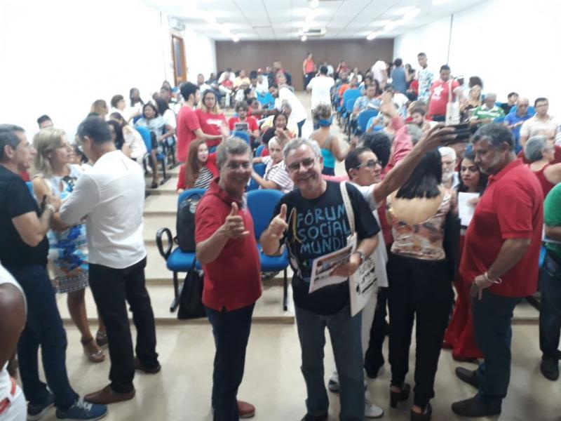Nova tendência nacional do PT recebe o nome de Resistência Socialista, em encontro de Lauro de Freitas