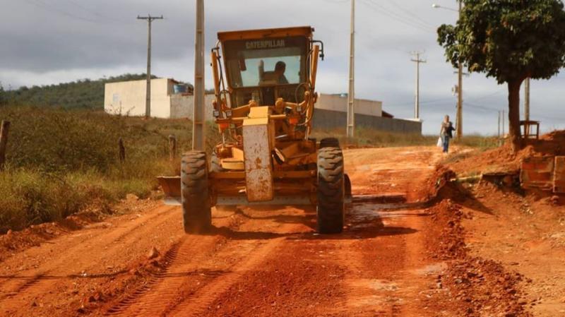 Rio do Antônio: Prefeitura inicia 2°etapa das obras de pavimentação do bairro Alto da Boa, em Ibitira