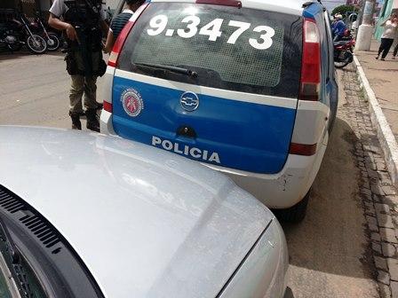 Bandido age no centro da cidade e assalta correspondente bancário da caixa econômica federal