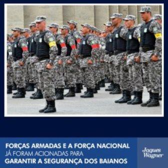 Greve da PM: Secretário de Segurança Pública anuncia que governo já pediu auxílio das Forças Nacionais