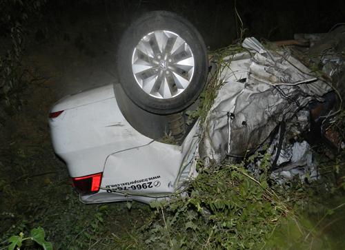 Acidente com vítimas fatais na BR - 030 depois da Vila Presidente Vargas