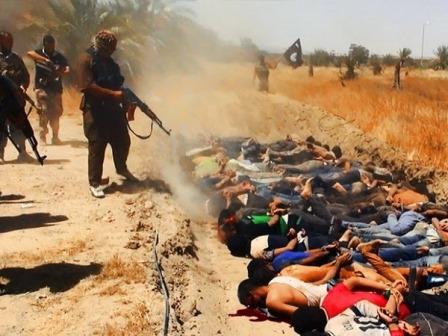 Radicais islâmicos postam fotos de execução de soldados no Iraque