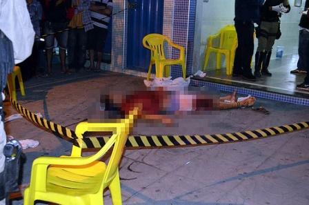Briga de bar termina em tiros e tragédia