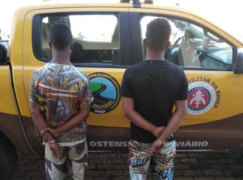 2 CIPRv Brumado: TOR Apreende indivíduos por roubo tentado às margens do anel viário