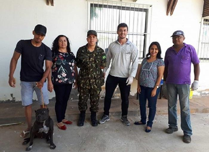 Parceria Produtiva: Atiradores do TG de Brumado participam da intensificação vacinal contra raiva canina