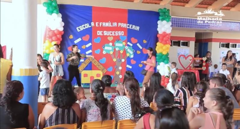 Projeto Família na Escola é desenvolvido pela Secretaria de Educação de Malhada de Pedras; veja o vídeo