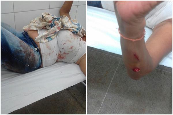 Jovem desfere vários golpes de facão na própria tia e é preso pela polícia em Brumado
