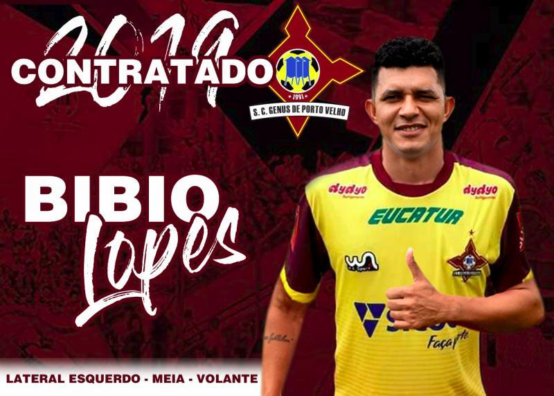 Atleta Bibio de Jânio Quadros irá disputar o Rondoniense 2019 pela segunda vez