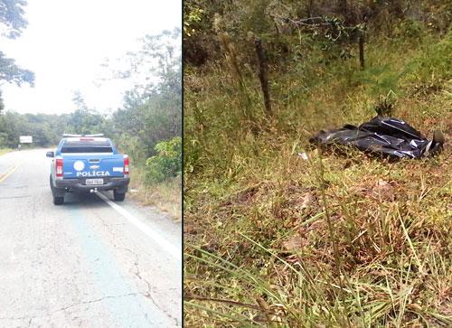 Ladrões levam o carro com ouro e dinheiro depois de executar a vítima