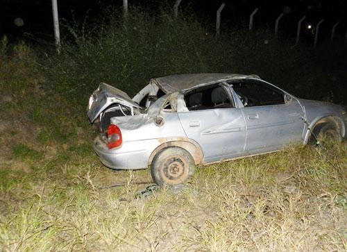 Ao retornar de velório família sofre acidente automobilístico