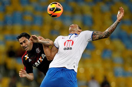Bahia é derrotado pelo Flamengo no Maracanã e fica mais perto do perigo da degola