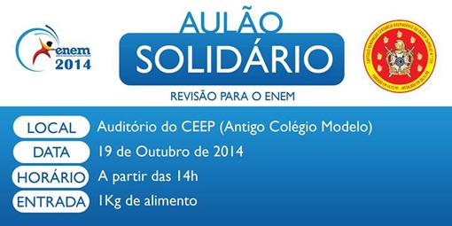 Ordem DeMolay realizará neste domingo Aulão Solidário
