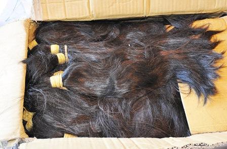 São Paulo: Uma tonelada de cabelo humano é apreendida em aeroporto